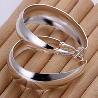 big earrings - 925 silver earrings big circle round women s earrings amazing earrings jewelry