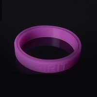 Wholesale Luminous Sports Bracelet Complaint Free Sayings Wrist Band Silicone Wristbands Fashion Purple Pink Wristband as Gifts Sayings Bracelets