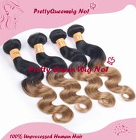 Cheap remy human hair Best Peruvian ombre body wave