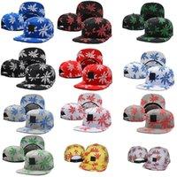 active pot - 10 of maple leaves Ball Caps women and men Baseball Hats Hip hop Caps Leaf Pot Flat Snapback Baseball Caps