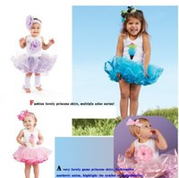 magic cube - HB0004 Fashion summer sleeveless baby girl dress tutu dress lovely ball gown kid s magic cube retail Honey Baby