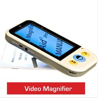 High Quality 4.3inch Portable Low Vision lecture de l'aide magnétoscopes vidéo vidéo grossissements 2x à 32x