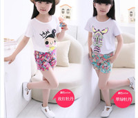 Wholesale 2015 Summer Children Shorts Girls Beach pants Kid s Mini Hot Pants Kids Clothing Girls Shorts Kids Pants Floral Printed Shorts L342
