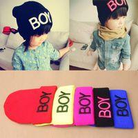 baby ski hats - Baby Girls Boys Knitted Woolen Skull Hats Toddler Ski Hats BOY Beanie Caps