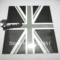 car mirror flag cover - Exterior Accessories Car Stickers Black Jack Union UK Flag Vinyl Stickers For Mini Cooper Mirror Cover L amp R