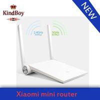 mini wifi router - Original brand mi Xiaomi router White wifi router ac wireless MT7620A MB G G dual band ac antenna smart mini router