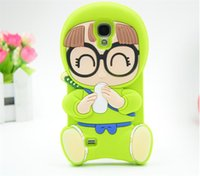 soft drink - For Samsung S4 S5 Note3 Note4 Silicone Arale Phone case D Cute Drinking milk Soft Silicone New arrive Luxury Fashion Cartoon cover case