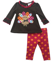 baby turkey costume - Thanksgiving Clothes M T Baby Girl Rare editions Turkey Shirt and Pants with Long sleeve Halloween costume new