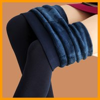 Wholesale Trend Knitting winter new High elastic thicken lady s Leggings warm pants skinny pants for women