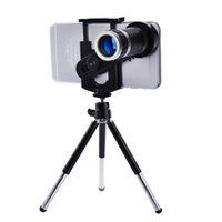 Cheap Universal Mobile Phone Lens 8X Zoom Telescope Camera Telephoto Lens With Tripod For iPhone 5S 6 Plus For Samsung Galaxy S4 S5 Note 4