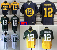 Wholesale NEW Aaron Rodgers Jersey Stitched Packers Jerseys Cheap Size M XXXL discount football jerseys Custom Limited Elite Game Embroidery