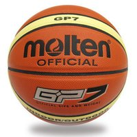 ball pump needle - NEW Brand Hight Quality Genuine Molten GP Basketball Ball PU Materia Official Size7 Basketball Free With Net Bag Needle Pump