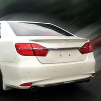 Wholesale Car Styling Rear Wing Trunk Spoiler Decorative Cover For Europe Toyota Camry ABS Auto Accessories