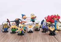Wholesale Despicalbe Me Minion Figures Collective Edition Minions Pendant Decor Christmas Birthday Gift Toys for Kids set