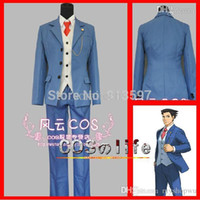 Cosplay costume spécial gros-Anime Phoenix Wright <b>Ace Attorney</b> 5