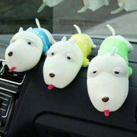 air freshener dolls - Interior Accessories Deodorant Car Air Freshener Bamboo Charcoal Bag Doll Ambientador Lessen Radiation Indoor Decoration Toys M12440