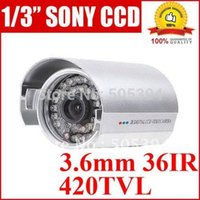 Wholesale Sony CCD TVLine Security Camera CCTV IR camera