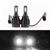 Wholesale 2PCS w bulb HB4 LM Auto Cree LED Headlights Bulb K White Lamp All in One Aluminum Waterproof DC12 V