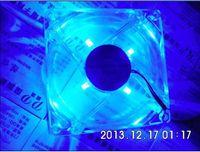 Wholesale pc computer fan mm with led cm silent cooling fan V LED luminous chassis molex D plug A2