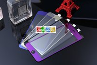 Wholesale Brand color plating Tempered glass screen protector for iphone inch explosion prorf Glass protection film Front back one set MM H