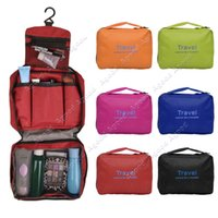 Wholesale Multifunctional Storage Bag Travel Pouch Folding Wash Bag Hanging Waterproof Breathable Bag Cosmetic Makeup Clutch Handbags SV005937