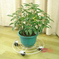 Wholesale 40 tablet mobile flower pallet flower pot pallet mobile flower balcony flower