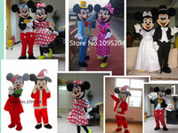 Wholesale High quality Classical Mickey mouse and Minnie mouse mascot costume mickey and Minnie mascot costume fast shipping