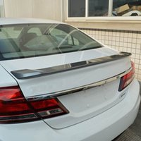 Wholesale Car Styling Trunk Lid Rear Spoiler Plate For Honda CITY Chrome Plating High Quality Auto Accessories
