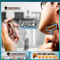 Wholesale New Style MEN S Mini Portable Credit Card Tools Razor U style Mirror Blades Wallet Shaver MFA