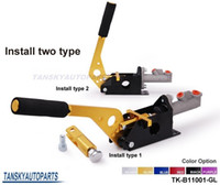 Wholesale Tansky UNIVERSAL GOLD V2 HYDRAULIC HANDBRAKE E BRAKE VERTICAL HORIZONTAL DRIFT JDM Default color is Golden TK B11001 GL