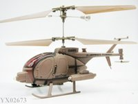 Wholesale 3CH RC helicopter more stable flight radio remote control helicopters indoor toy