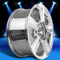 Wholesale 2015 New x8 Alloy Car Wheels Rim Chrome Fit for Chevrolet Avalanche Tahoe Suburban offset USA Stock