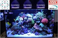Wholesale 2015 Rohs Grow Led Real Aluminum Led Bulbs Ce Grow New Dimmable Aquarium Light Artemis w x2w Coral Reef Lighting