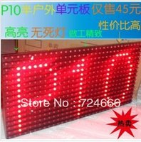 amber high brightness - Hot outdoor DIP P10 high brightness amber led display module x16 Scrolling messages R G Y B x16 LED Module P10 R