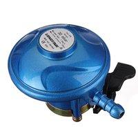 Wholesale 30 Mbar Butane Gas Low Pressure Regulator on off For Calor mm Clip On Bottle order lt no track