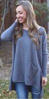 batwing jumper knitwear - 2016 Women Long Sleeve Loose Cardigan Knitted Sweater Jumper Knitwear Outwear Coat