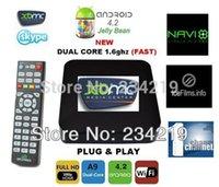 Wholesale a dhl mx2 New Linux version Midnight AMLogic M6 mx linux xbmc TV Box XBMC