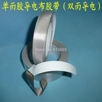 Wholesale single face conductive fabric radiation resistant tape with mm X m