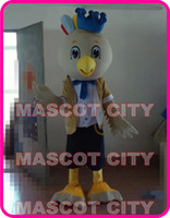 Mascot Costumes adult parrot - rio mascot Little Parrot White Bird Mascot Costume Adult Size Cartoon Character Carnival Cosply Costume EMS SW1350
