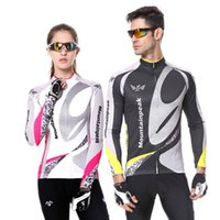 Wholesale Stylestoker Long Sleeve Cycling Jersey Bike Riding Racing Top Maillot Shirt Wear