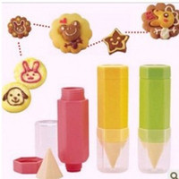 onigiri - 1PC DIY Onigiri Food Pen Baking Biscuit Cake Painting Sauce Decorating Mold M L Sizes