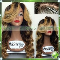Cheap human hair wigs Best Glueless full lace wigs