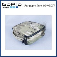 Wholesale Camouflage go pro camera video bag for gopro hero Go pro box gopro Bags for gorpo hero gorpo hero SJ4000