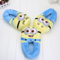 Wholesale 40 Pairs Despicable Me Minions Plush Stuffed Slippers Cuddly Fluffy Jorge Dave Stewart