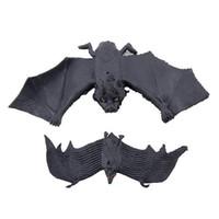 bat activities - Halloween Side Bats Pendant Props Scary Vampire Bat Hanging Toy Party Activities Decoration Tools Hot Sale