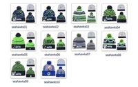 Wholesale Winter Wool Hats Seahawks Beanies