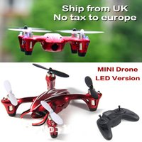 Wholesale SEND from UK FREE TAX HUBSAN X4 H107C G CH MINI RC HELI QUADCOPTER CAMERA Real time video aerial toys
