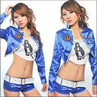 auto racing club - Motorcycle Jacket Racing Suit Dress DS Dance Clothing Bar Drummer Clothing Taste Suits Auto Show Cars Club Sexy Outfit J189