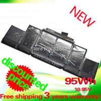 Wholesale 10 V WH laptop battery for apple A1398 A1417 MacBook pro quot MC976CH MC975