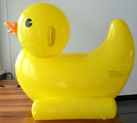Wholesale Jam Hongkong giant inflatable yellow duck m big Children Swim Toy Duck